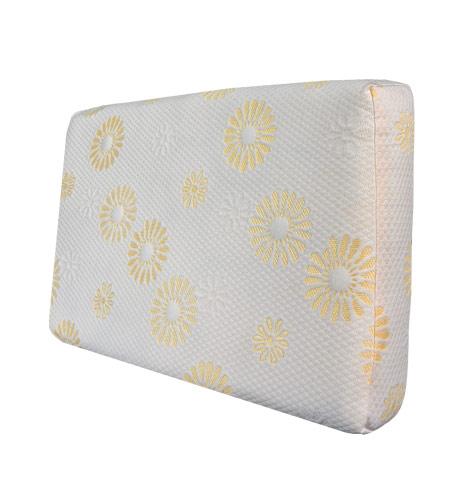 Memory Pillow White Sun Flower